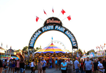 Indiana State Fair entrance