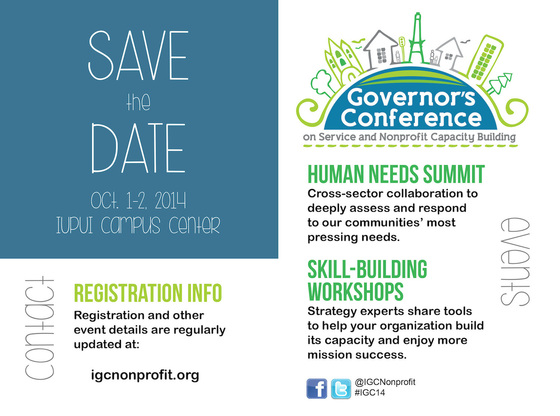 Save the date oct 1 2 2014 governor 39 s conference on for Conference save the date template