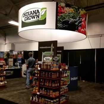 Indiana Grown display