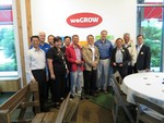 Ted meeting with the Grain Quality Team from Taiwan.
