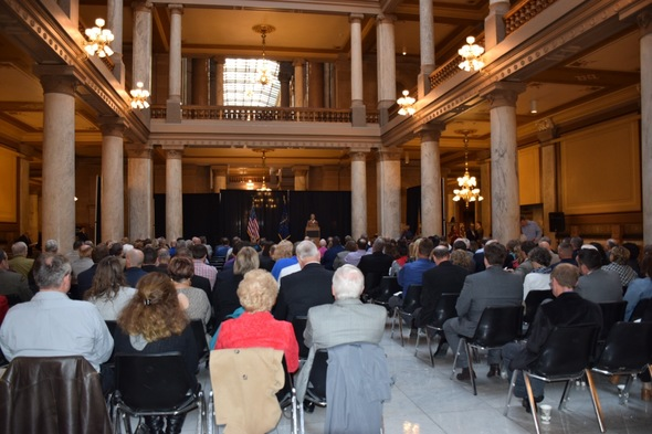 2017 OCRA Awards Ceremony at the Indiana Statehouse