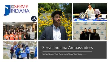 Serve Indiana Ambassador ad