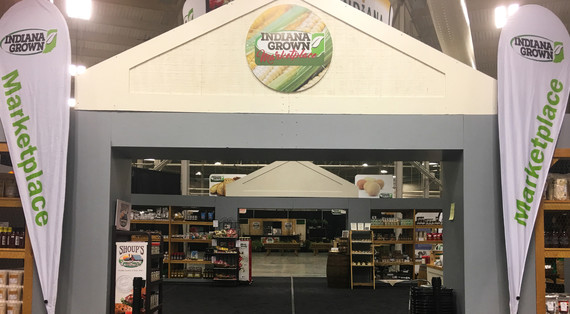 Indiana Grown Marketplace Entrance