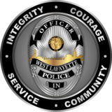 City of West Lafayette Police Coin