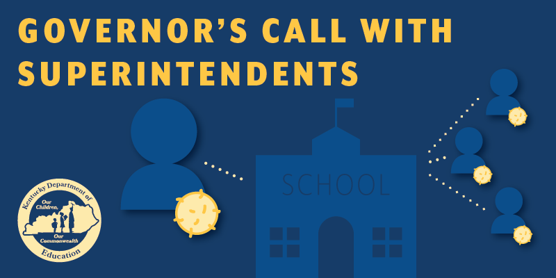 Governor's Call with Superintendents graphic