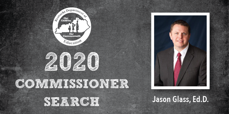 2020 Commissioner Search: Jason Glass, Ed.D.