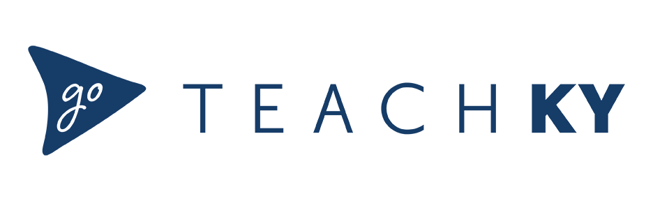 This is the GoTeachKY logo.