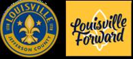 louisville jefferson county and louisville forward logos