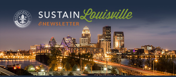 Sustain Louisville E-Newsletter Banner