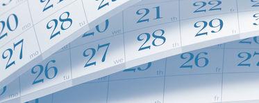 CHE calendar
