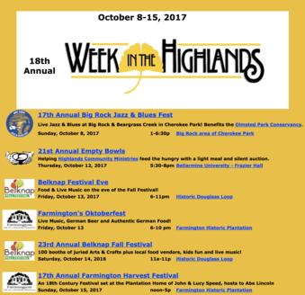 WeekHighlands