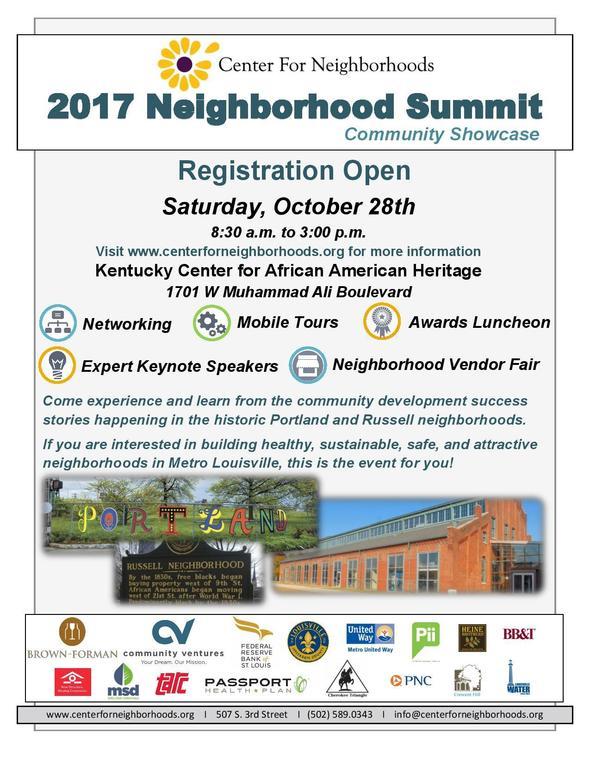 Neighborhood Summit 2K17