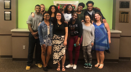 Portrait of the Racial Equity Youth Council cohort for 2017