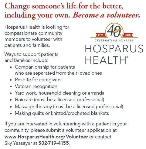 Hosparus Volunteer