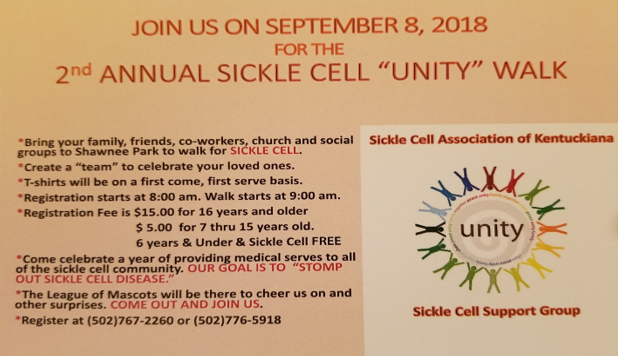 Sickle Cell unity walk