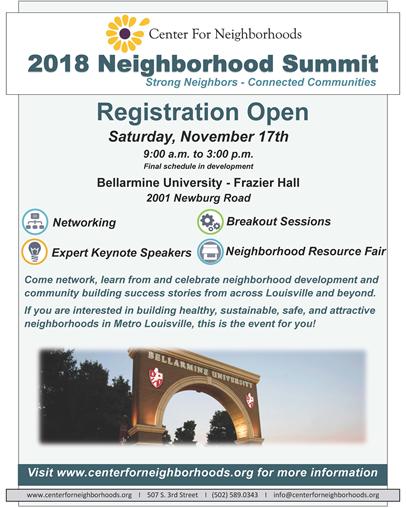 2018 Neighborhood Summit