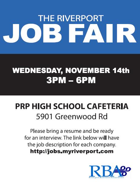 Riverport Job Fair