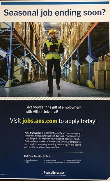 hiring flier