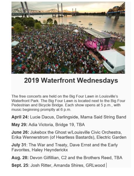 Waterfront Wednesdays