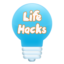 Life Hacks Lightbulb
