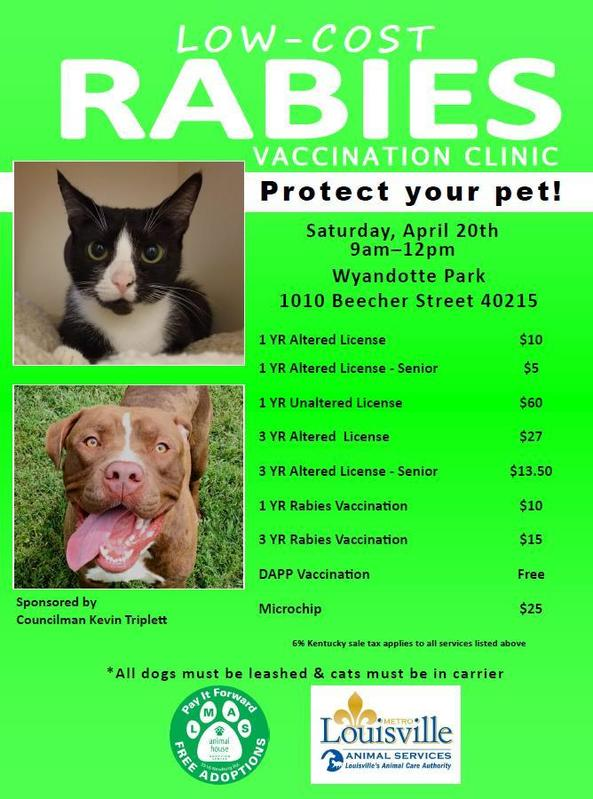 4-20 Rabies clinic