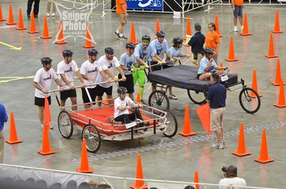 derby bed race