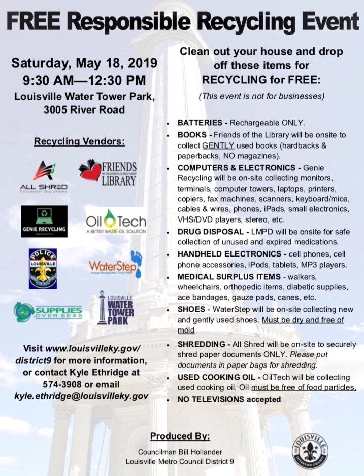 recycling event