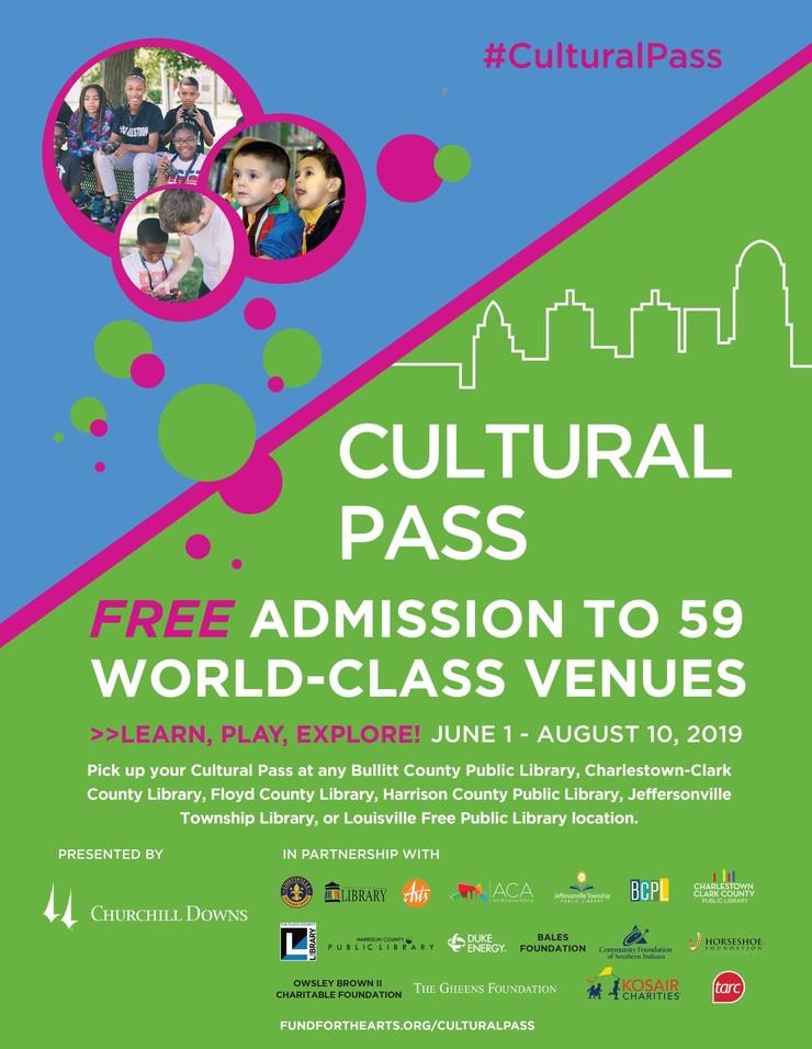 Cultural Pass 2019 Flier