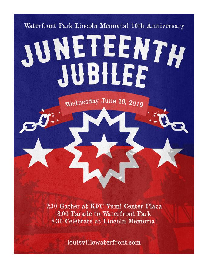 Juneteenth Jubilee 2019 flier