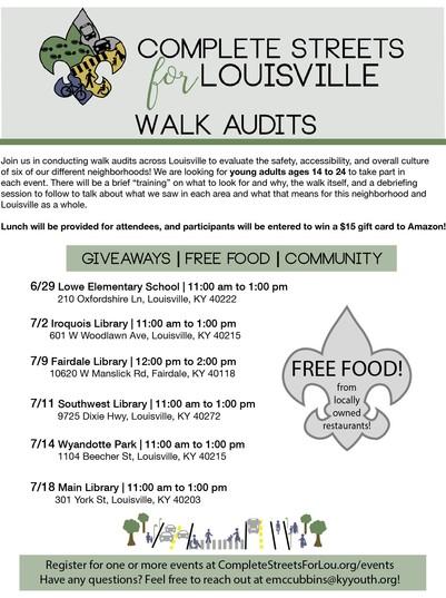 2019 walk audit