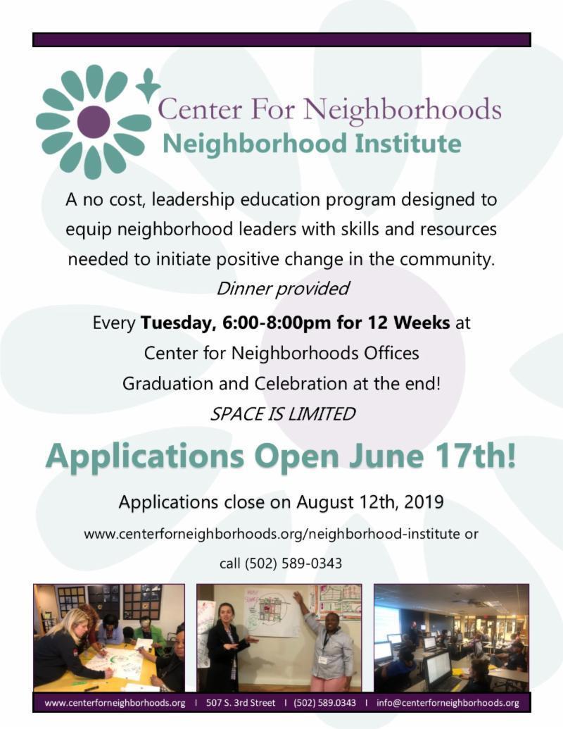 Center for Neighborhoods Institute
