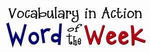 Word of the Week Graphic