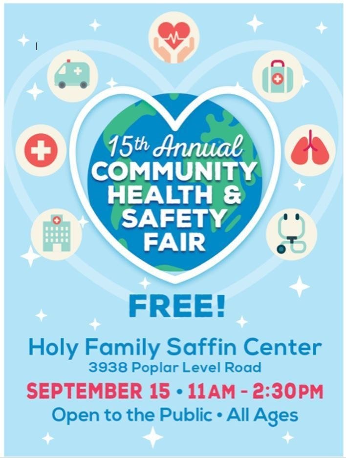 Community Health and Safety Fair 2019