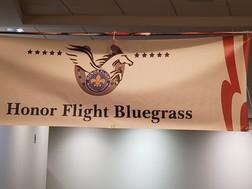 honor flight banner