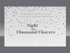 night of flowers
