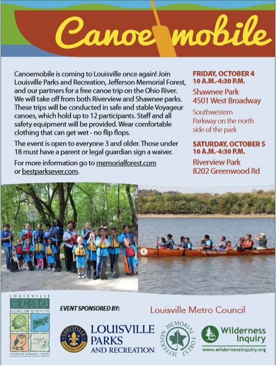 Canoemobile Event