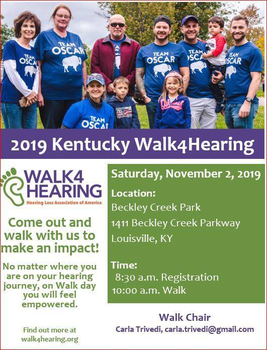 walk for hearing