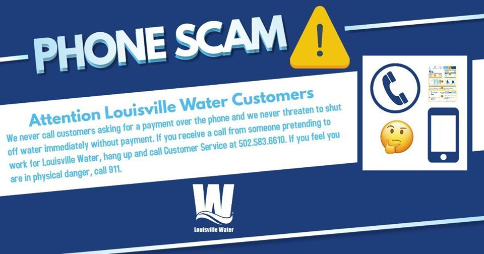 water scam