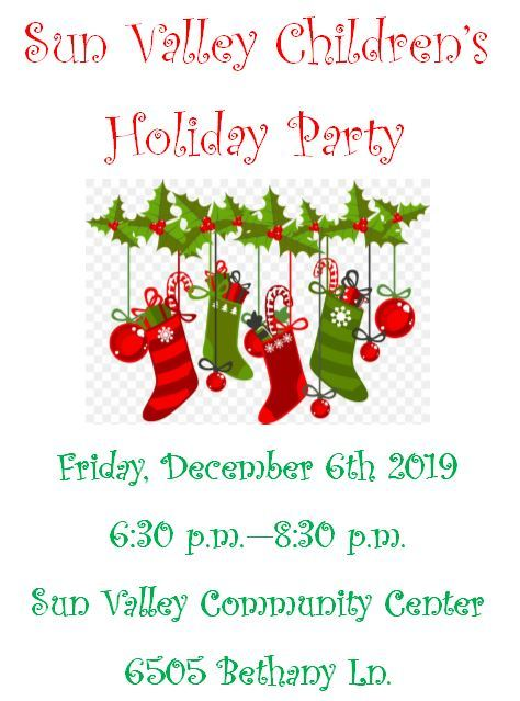 Sun Valley Holiday Party