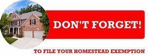 Homestead Exemption