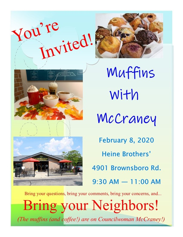 Muffins with McCraney
