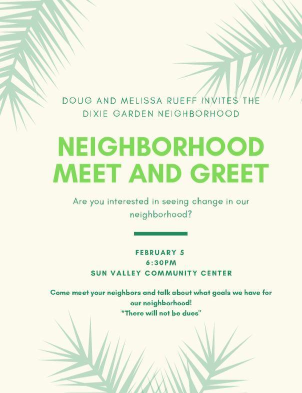 Dixie Garden Meet and Greet