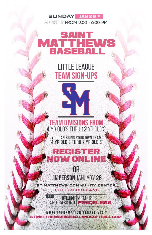 St. Matthews Baseball Flyer