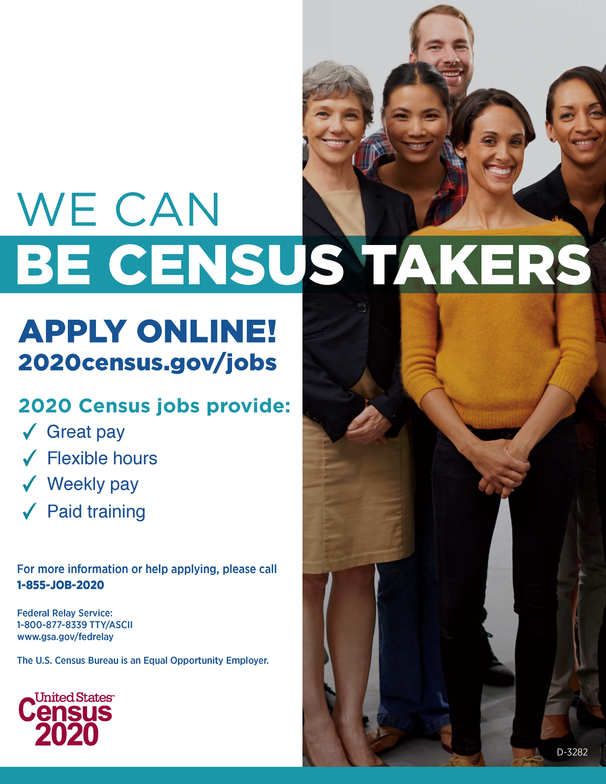 Census Taker Flyer