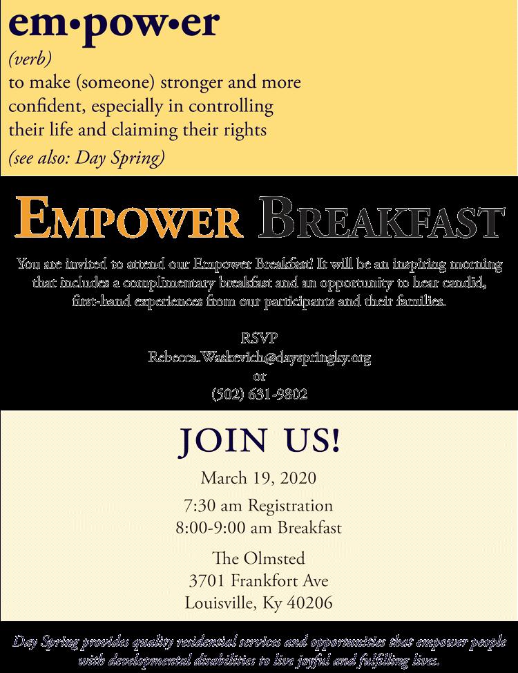 Empower Breakfast