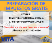La Casita Taxes preparation