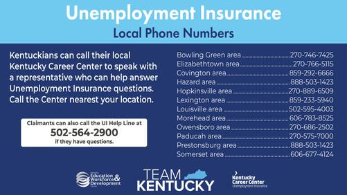 UI Local phone Number