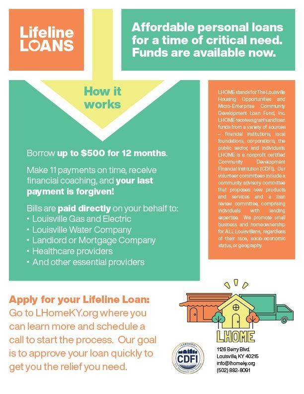 lhome covid loan pers