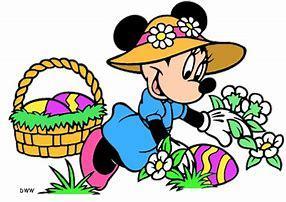 Easter Pic - Mini Mouse