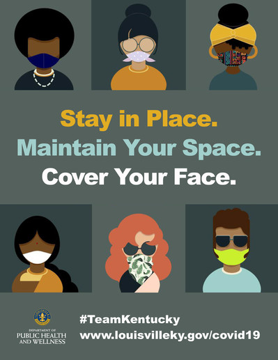 Cover your Face flyer